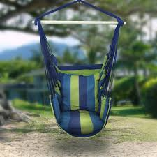 outside swing chair. Amazon.com: Sorbus Hanging Rope Hammock Chair Swing Seat For Any Indoor Or Outdoor Spaces- Max. 265 Lbs -2 Cushions Included: Garden \u0026 Outside N