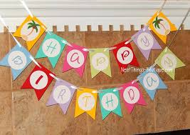 custom happy birthday banner tree happy birthday banner beach custom