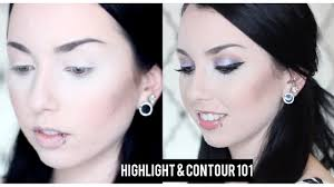how to highlight and contour your face pale skin