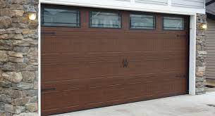 elite garage doorNEW Elite Series  Charcoal  Walnut Finish or Charcoal