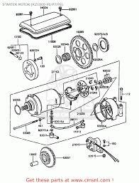 1981 Kz550 Wiring Diagram