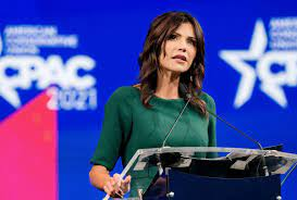 """Kristi Noem called out over """"clear ..."""