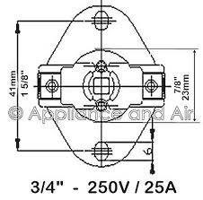 thermodisc wiring diagram thermodisc image wiring b14287 7 1428703 limit fan blower control switch f140 therm o disc on thermodisc wiring diagram