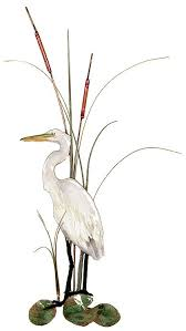 w362l small white heron on white heron wall art with gift basket topsail island trading co gifts bovano art