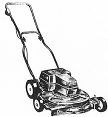lawnmower drawing. no info lawnmower drawing o
