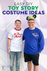 simple diy toy story costumes ideas