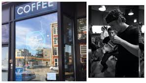 Three military veterans offering you the very best in coffee and patriotism! Harrison S New Coffee Shop From Industry Veteran Taking Over Cup Spoon In Humboldt Park