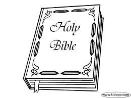 Holy Bible Coloring Page