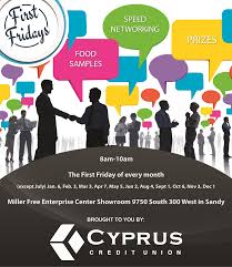 South Jordan Chamber Of Commerce First Fridays Speed Networking