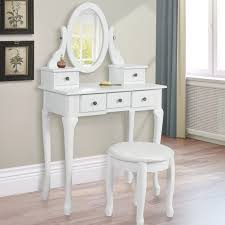 Makeup Table Best Choice Product Wood Vanity Table With Stool Jetcom