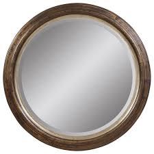 magnificent round wall mirror