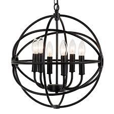 journee lighting. Journee Collection Home \u0027Mahin\u0027 20 In Hard Wired Iron Chandelier With 6 Included Edison Bulbs Lighting I