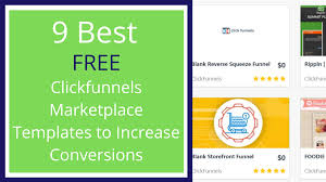 9 Best Free Clickfunnels Marketplace Templates To Increase