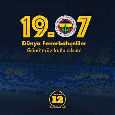 """12 Numara 🇹🇷 در توییتر """"12 Numara olarak tüm taraftarlarımızın 19 Temmuz """"Dünya  Fenerbahçeliler Günü""""nü kutlarız. #DünyaFenerbahçelilerGünüKutluOlsun…  https://t.co/WhprZKCcAK"""""""