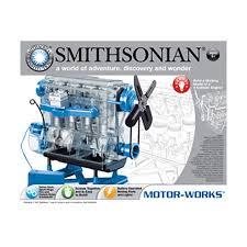 nsi smithsonian motor works kit build craft toys home home garden
