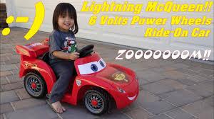 fisher power wheels disney cars lightning mcqueen ride on car unboxing assembling