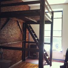 Loft Bedroom For Adults Chicago Loft Beds Solid Wood Loft Bed Kits Choose Any Clearance