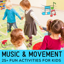 Come join in the fun and learning for babies, toddlers, and big kids! Music And Movement Activities For Toddlers And Preschoolers