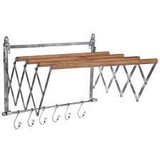 galvanized metal wall rack hobby