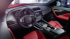 2018 jaguar f pace front interior features