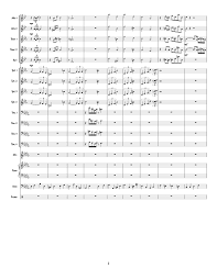 No Name Yet Big Band Chart Sheet Music For Piano Alto