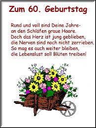Sprüche Lustig Geburtstag 60