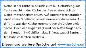 Neffe Ist Bei Tante Zu Besuch Zum 80 Geburtstag Die Tante Macht In