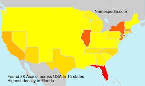 Acacia - Names Encyclopedia