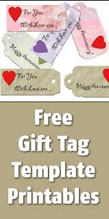 Tags For Gifts Templates Free Gift Tag Printables Templates Blissfully Domestic