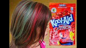 rainbow kool aid dyed hair for kids like rainbow dash diy how to dye your hair with kool aid