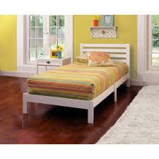 Aiden Twin Bed, White
