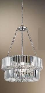 italian pendant lighting. Polished Nickel And Crystal Pendant Light Italian Lighting