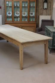 very large 19th cent english pine dining table