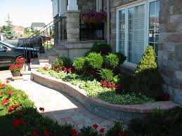 nice front yard landscape design