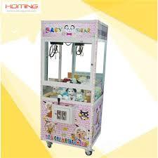 Crane Toy Vending Machine Enchanting Baby Bear Crane Machine Toystory Claw MACHINE Claw Arcade HomeToy