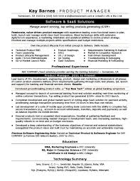 Monster Sample Resume Unique Mba Project Management Salary Product Manager Resume Sample Monster