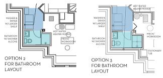 Basement Bathroom Plumbing Rough In Diagram Installing Drain And - Bathroom plumbing layout