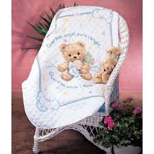 Dimensions® Cuddly Bear Baby Quilt Stamped Cross-Stitch & Dimensions® Cuddly Bear Baby Quilt Stamped Cross-Stitch Kit Adamdwight.com