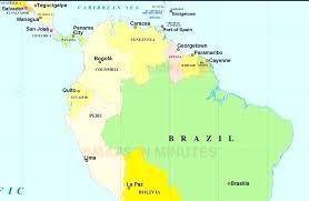 Latin America World Map Torchbearers Info