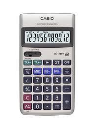 Financial Calculator Shop Casio 12 Digit Financial Calculator Silver Online In Dubai Abu Dhabi And All Uae