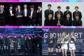 Bts Gaon Chart Kpop Awards 2018 Winners Of 8th Gaon Chart Music Awards Soompi