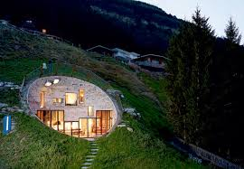 Bjarne Mastenbroek and Christian Mller are the minds behind this unusual  residence in the Swiss village of Vals. Nestled in a hillside, Villa Vals  is ...
