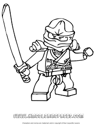 Small Picture Printable Coloring Pages Lego Ninjago Coloring Pages