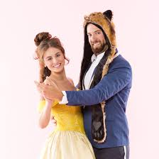 wear this beauty and the beast costume for an enchanting brit co