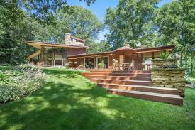 Listing Of The Week Frank Lloyd Wright Inspired Home Sprinkman Detroit Homes  Style Real Estate ...