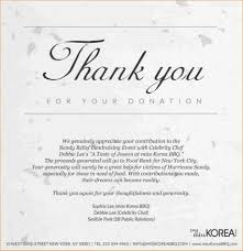 Fundraising Thank You Letter Templates Thank You Letter For Donation To Nonprofit Organization