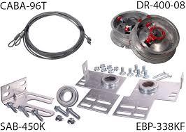 torsion spring conversion kit for 8 high door part