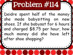 180 daily middle school word problems problem of the day math in the middle