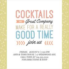 Cocktail Party Invitations For The Invitations Design Of Your