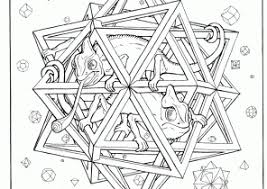 Small Picture Trippy Coloring Pages Free Printable Coloring4free Coloring4free